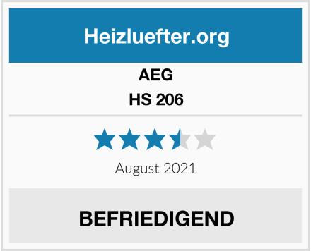 AEG HS 206 Test