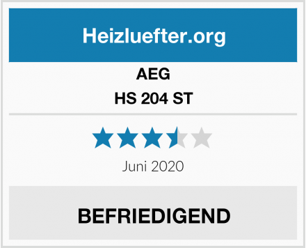 AEG HS 204 ST Test