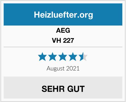AEG VH 227 Test