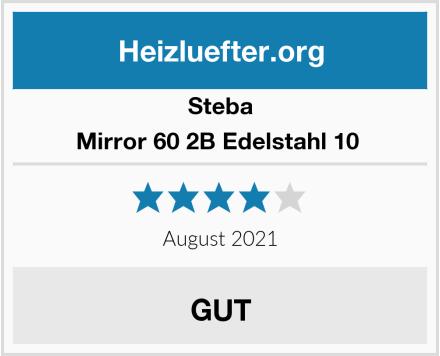 Steba Mirror 60 2B Edelstahl 10  Test