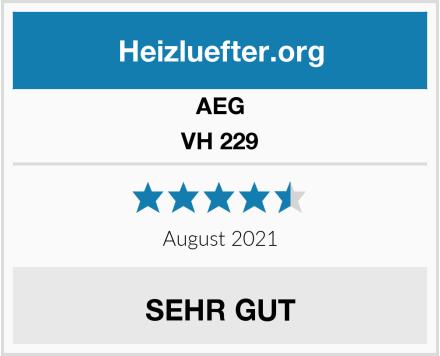 AEG VH 229 Test