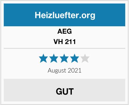 Aeg Vh 211 Test Heizlufter Test 2020