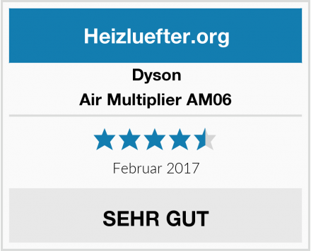 Dyson Air Multiplier AM06 Test