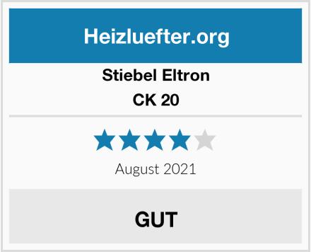 Stiebel Eltron CK 20 Test