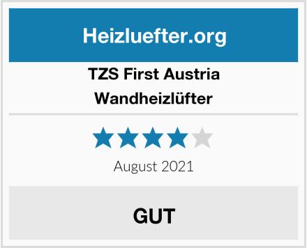 TZS First Austria Wandheizlüfter Test