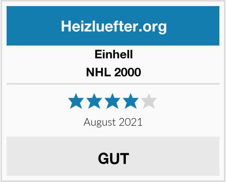 Einhell NHL 2000 Test