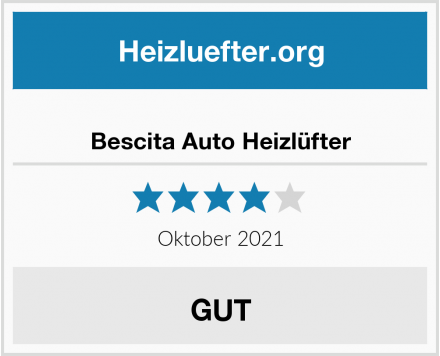 Bescita Auto Heizlüfter Test