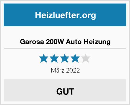 Garosa 200W Auto Heizung Test