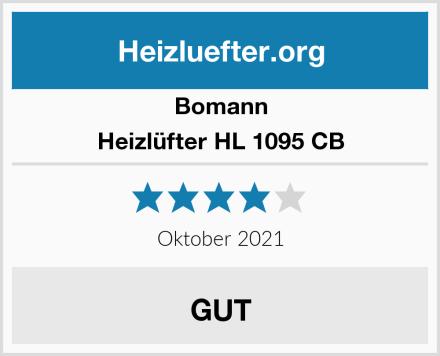 Bomann Heizlüfter HL 1095 CB Test