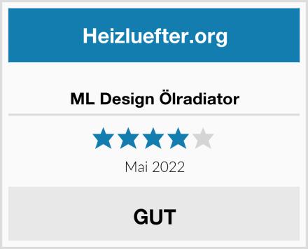 ML Design Ölradiator Test