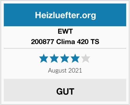 EWT 200877 Clima 420 TS Test