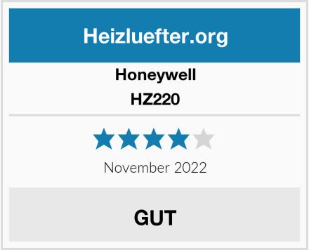 Honeywell HZ220 Test