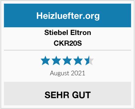Stiebel Eltron CKR20S Test