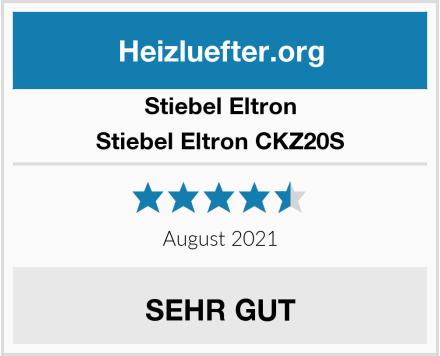 Stiebel Eltron Stiebel Eltron CKZ20S Test